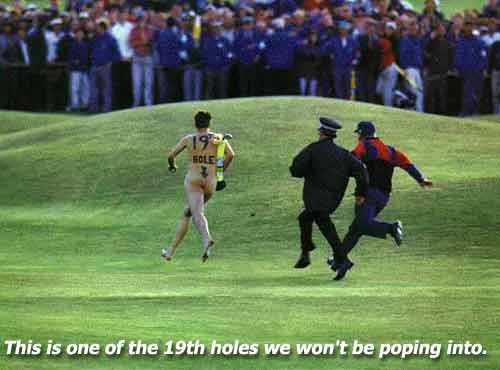 Sport Funny Pictures This is one of the few 19th holes we won't be poping into