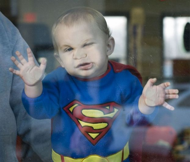 Clean Funny Pictures New kid superman