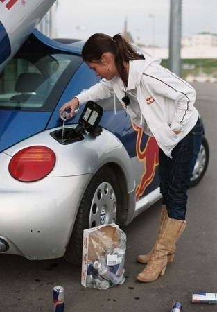 Car Funny Pictures Right, girl, it is obvious!