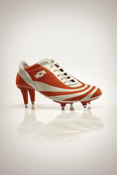 Sport Funny Pictures Women Soccer Shoes.