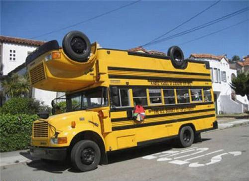 Car Funny Pictures SchoolBus