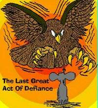 Cartoon Funny Pictures The last great act of defiance