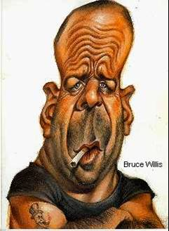 Celebrity Funny Pictures Bruce Willis