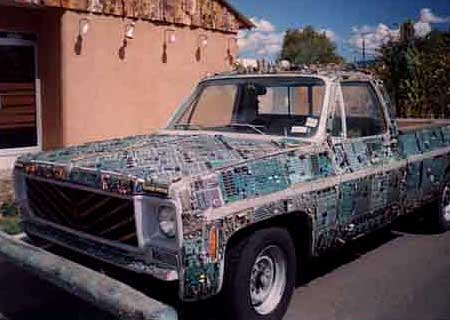 Car Funny Pictures Old microcircuits