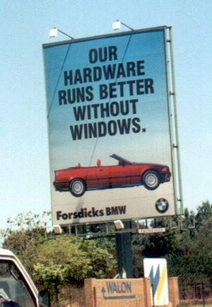 Car Funny Pictures Our hardware runs better without windows