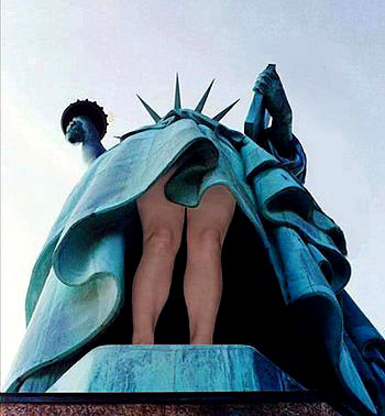 Facebook Funny Pictures The Statue of Liberty