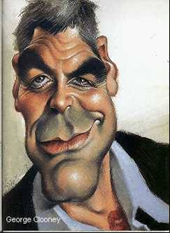 Celebrity Funny Pictures George Clooney