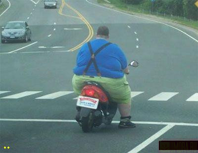 Fat People Funny Pictures Good bike!:)