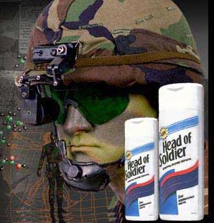 Clean Funny Pictures Head of Soldier