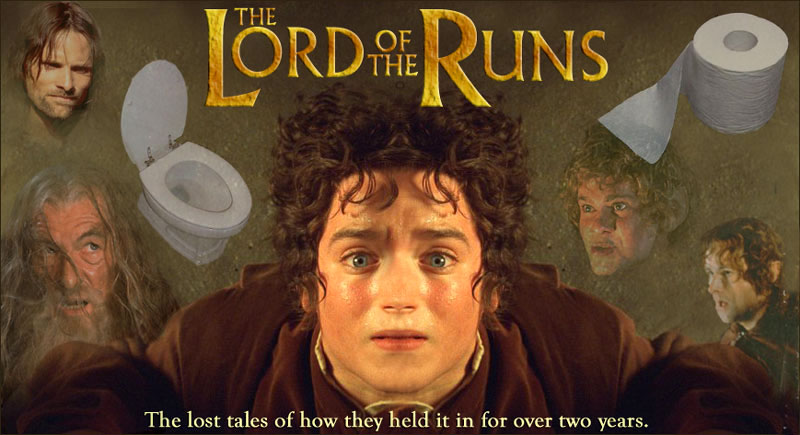 Funny Photos: Clean Funny pictures : The LORD of the RUNS