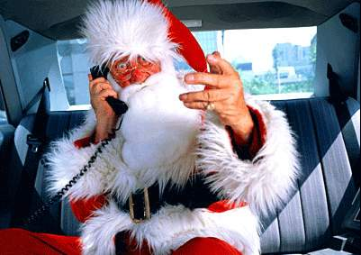 Clean Funny Pictures Cool Santa Claus