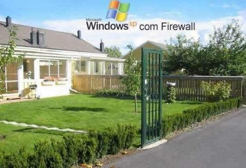 Computer Funny Pictures WindowsXP FireWall