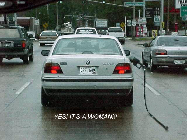 Blonde Funny Pictures Yes! It's a woman